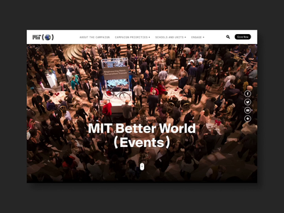 MIT Better World Events Homepage