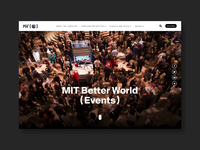 MIT Better World Events Homepage