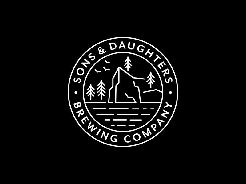 Sons and Daughter Brewing Co, Unused Logo
