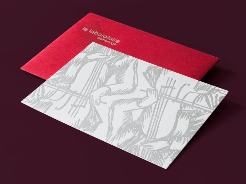 Switch Performance Event Invitation invitations print silver cambridge le laboratoire illustration switch letterpress invitation