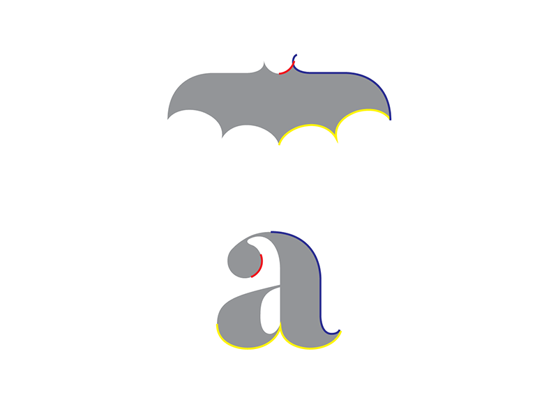 Bat Symbol Explained By Andrew Lupo Dribbble