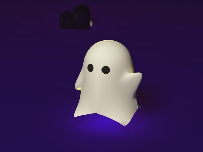 Ghost hello ghost cinema4d design illustration art ilustración arte 3d diseño