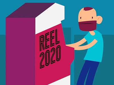 Reel 2020 demo reel pixel art after effects illustration animation