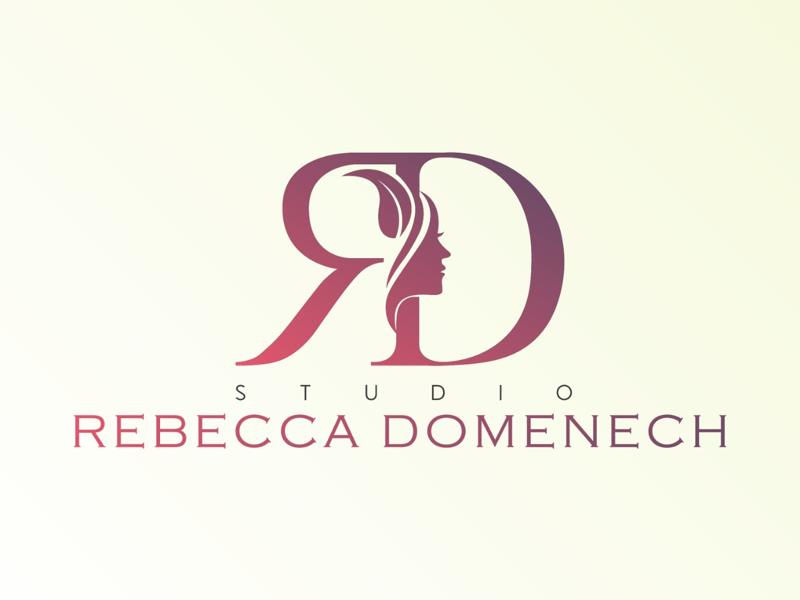 Studio Rebecca Domenech illustration beauty vector branding flat logo