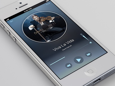 Music Play for iPhone 5 size