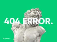 404 Error - Credit not found