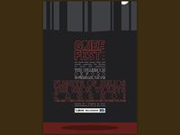 'Grief Fest 2015' gig poster