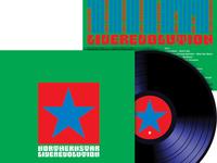 Northern Star 'Live Revolution' album cover design