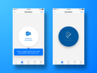 Buttons on Microsoft Flow