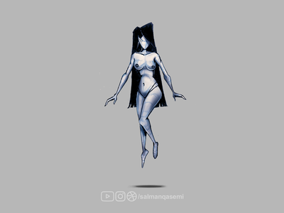 Anatomy Sketch Character || Game Design