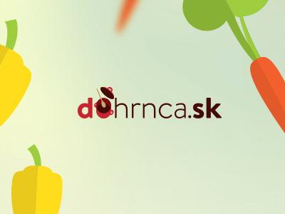 Dohrnca flat illustrator pot logo vegetables