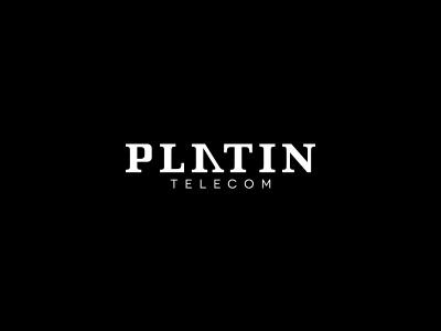 Platin Telecom platin telecom logo illustrator slovakia kosice premium number