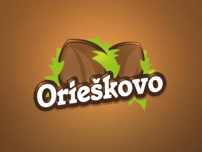 Orieškovo nuts orieškovo logo branding identity