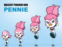 Mascot Penguin Run