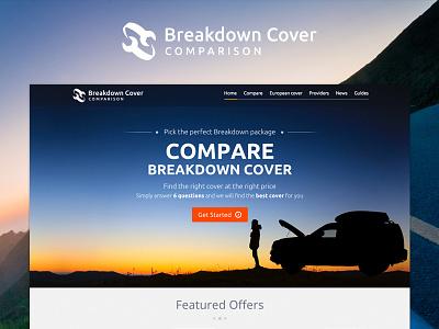 Breakdown Cover Comparison design web offers logo lead comparison sunset ui website breakdown