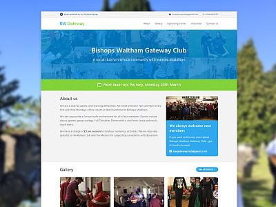 Bishops Waltham Gateway volunteer charity design website