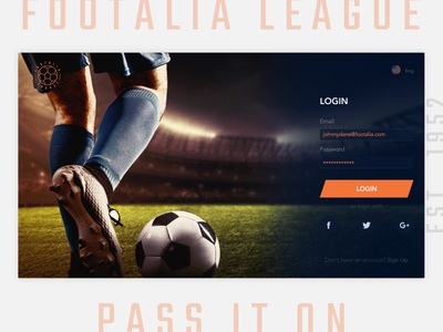 Sign Up - Daily UI-001