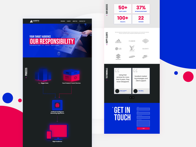 Marketing Website - Landing Page