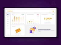 Finance Dashboard - Concept