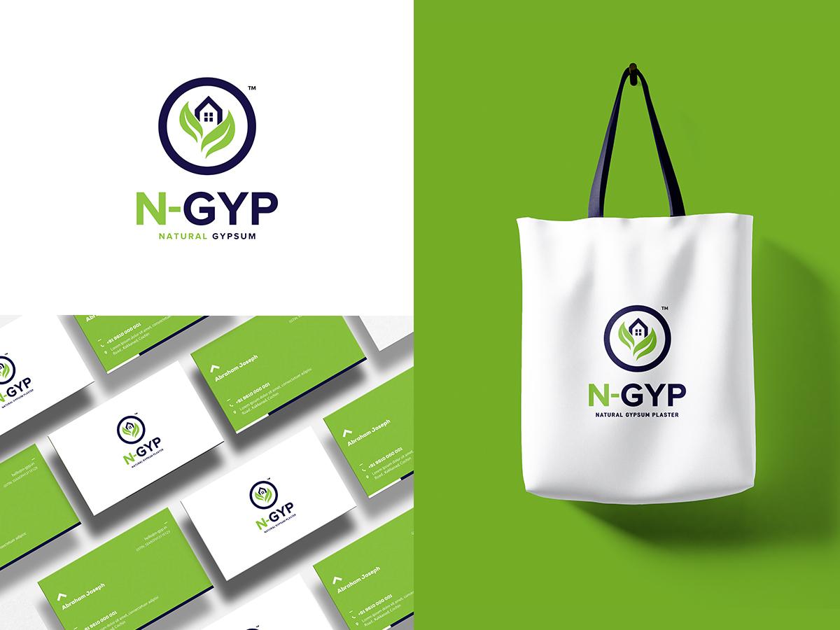 N-GYP Brand Identity brand identity branding logo