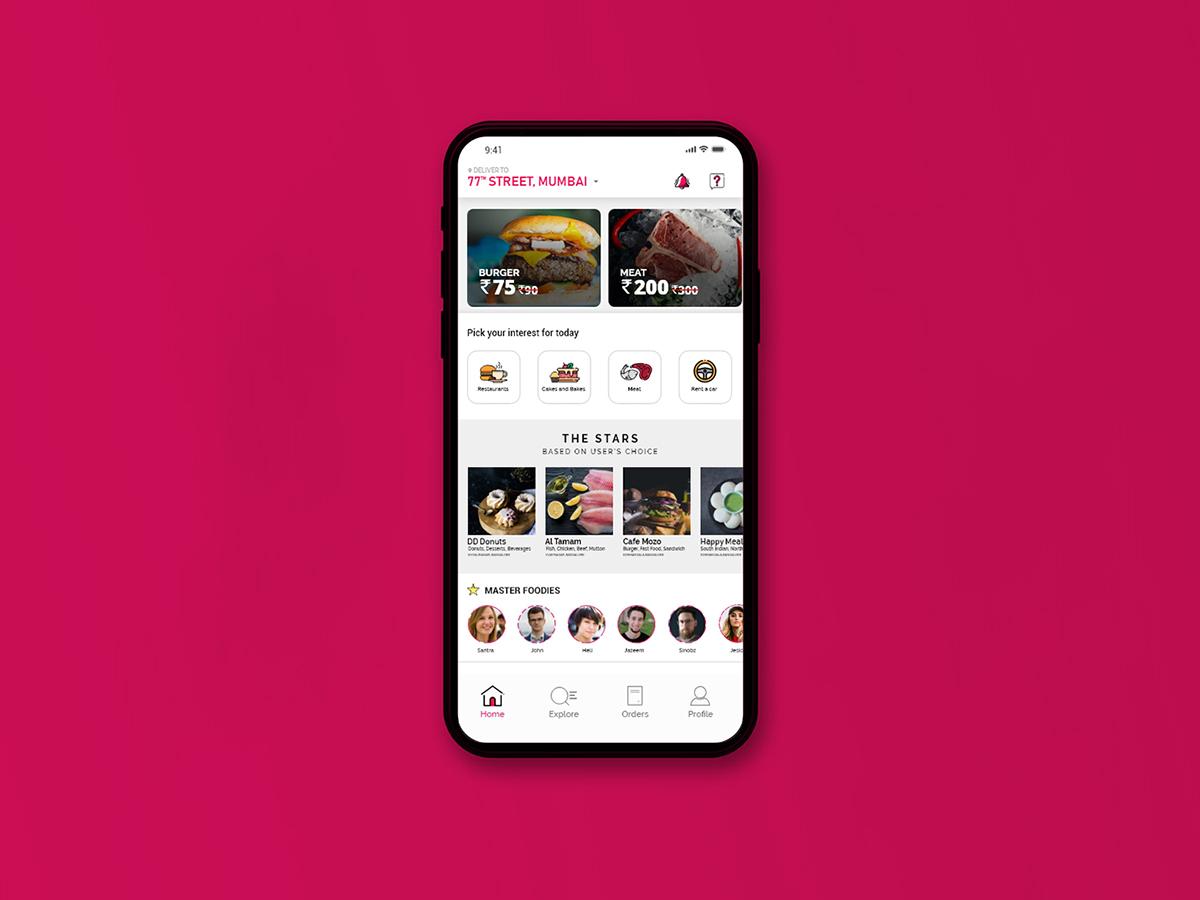 Pazatto UI Design ui design app design ui