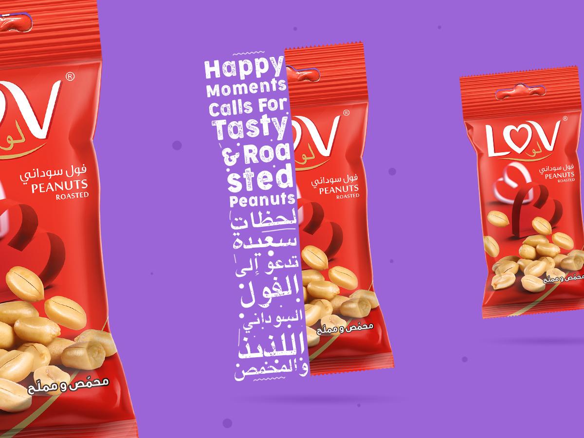 Happy Moments with LOV graphicdesign typogaphy creative  design