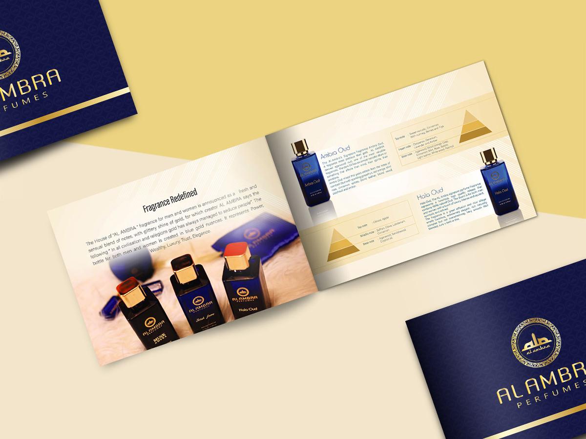 Al Ambra Brochure print design brochure