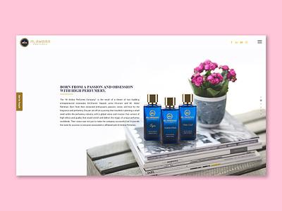 Al Ambra Web Design website web design minimal colors