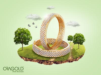 Golden Fantasy fourart image manipulation gold creative  design manipulation