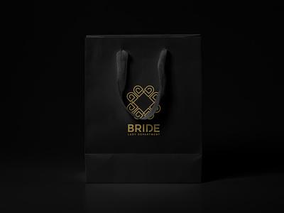 Bride Lady Department fourart bride logo design logo brand identity branding