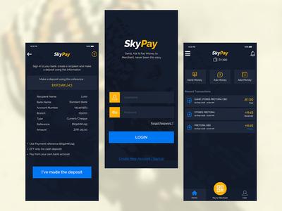 SkyPay Money Transfer App