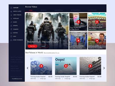 Video Platform Website