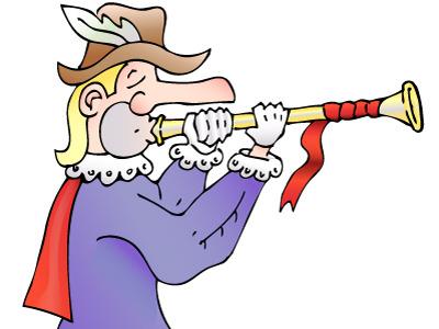 Trumpeter trumpeter medieval