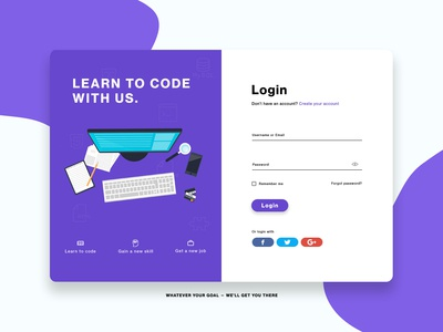 Login screen vector illustration creative web modern designs ux  ui ux ui design login form login design login page login box login