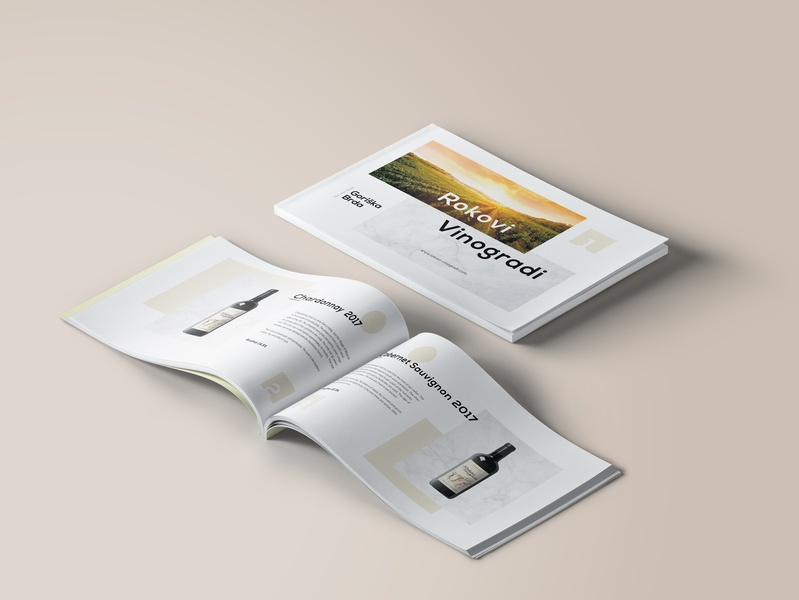 Vinery Lookbook looking clean wines look book wine minimalism minimalist promotion lookbook vinery designs creative modern design