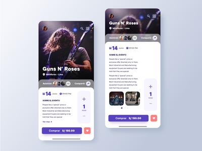 Event app concept 🚀 mobile app ios app minimalist ui event app music app uiux minimal ui design design