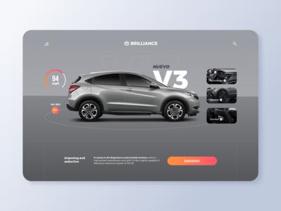 Car Shop Online - Web UI Design