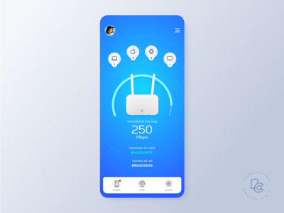 Network Status App Concept Design