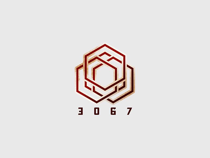 50 Daily Logo Challenge Day 17 - Geometric geometric daily 17 challenge logo dailylogochallenge