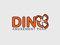 50 Daily Logo Challenge Day 35 - Dinosaur Amusement