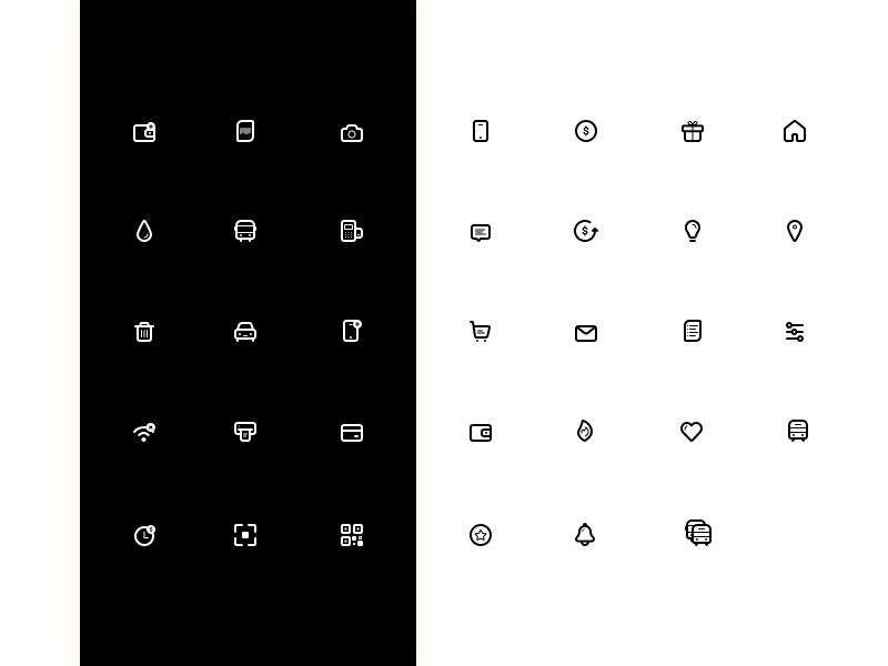 Finance icon clean minimal graphic interface ios colors icon branding web app illustration ux vector design ui