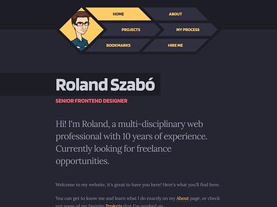 Portfolio 2020 Homepage personal website welcome homepage portfolio
