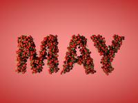 May 2014 Calendar Background
