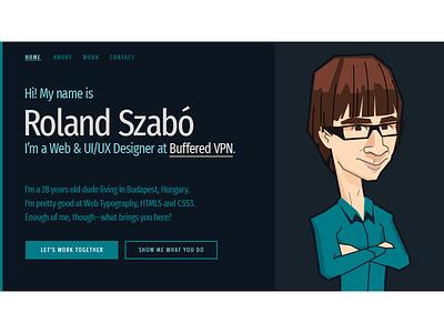 Portfolio 2018 - Homepage web designer homepage portfolio