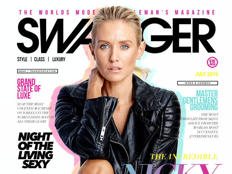 Swagger Magazine Cover whelan nicky