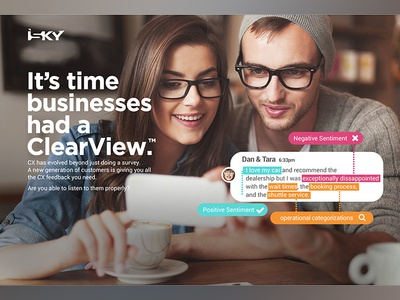 iSKY Customer Experience Management Software
