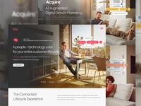 Customer Experience Landing Page
