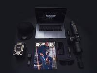 Black black background camera 2453658
