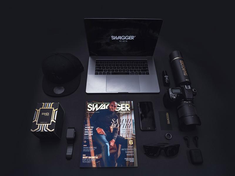 SWAGGER Cover for Sammi Rotibi