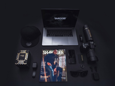 SWAGGER Cover for Sammi Rotibi book cover publishing landing page luxury magazine design magazine cover